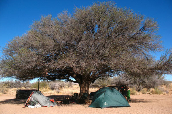 Camp at Canyon Roadhouse - Namib Desert