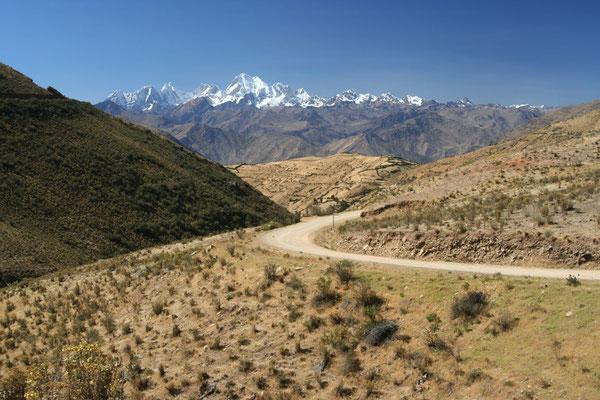 Road to Chiquian - Cordillera Huayhuash
