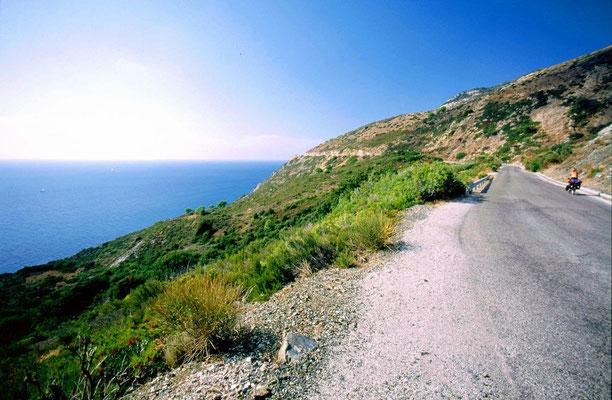 Cycling Marina di Campo - Southern Elba - Italy