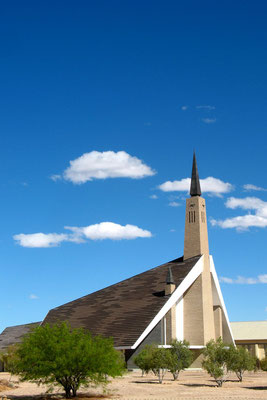 Church in Bethanie - Southern Namibia