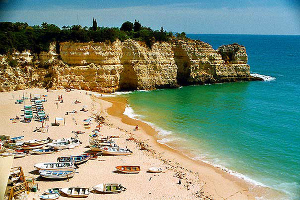 Senhora da Rocha Beach - Algarve - Southern Portugal