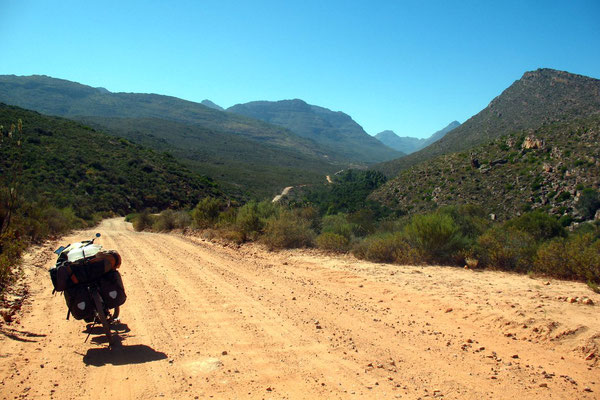 Entering Cederberg Wilderness Area