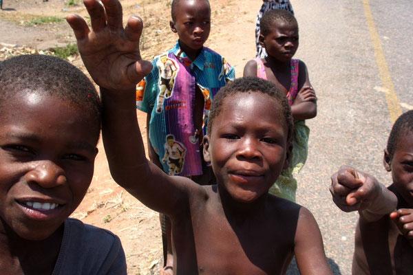 Kids in Mlali - Northern Malawi