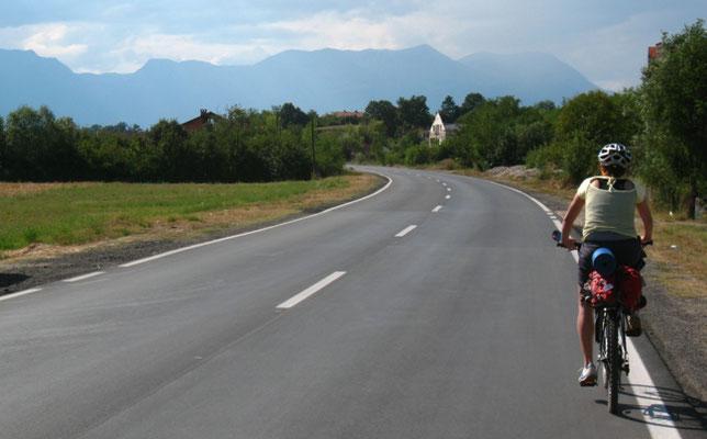 Approaching Peja - Kosovo
