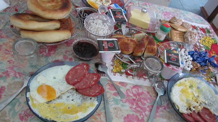 Breakfast - Khorog - Tajikistan