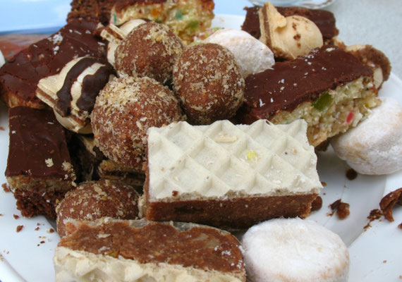 Traditional local sweets - Northeastern Montenegro