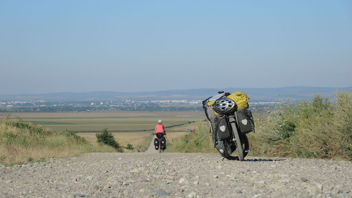Cycling eastern Romania