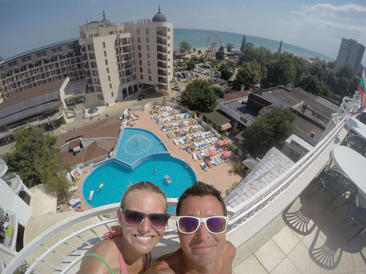 View from Erma Hotel - Golden Sands - Bulgaria