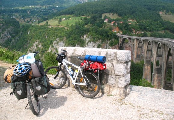 Cycling Tara Valley - Montenegro