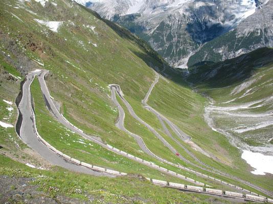 Stilfserjoch (Passo dello Stelvio) 2,758 m - South Tyrol - Italy