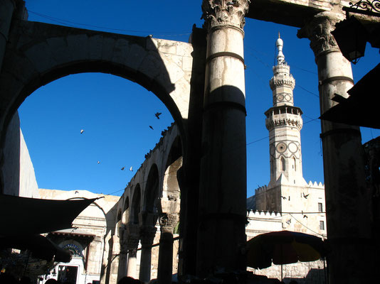 Western Temple Gate - Damascus - Syria