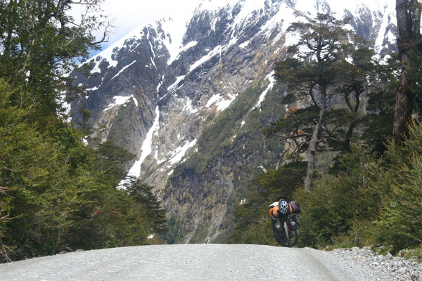 Cycling Carretera Austral - Aisen Province
