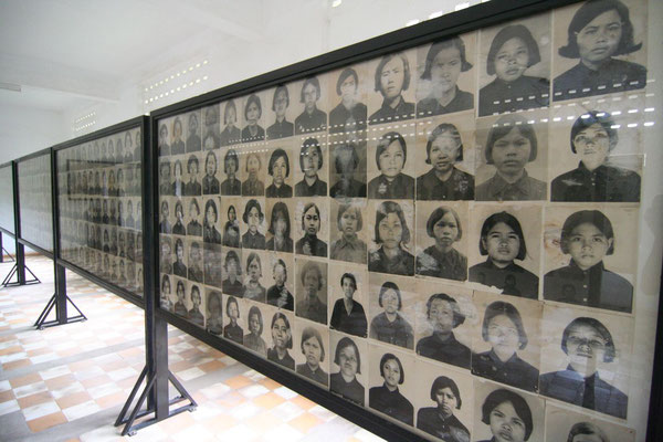 Victims of Khmer Rouge - Phnom Penh