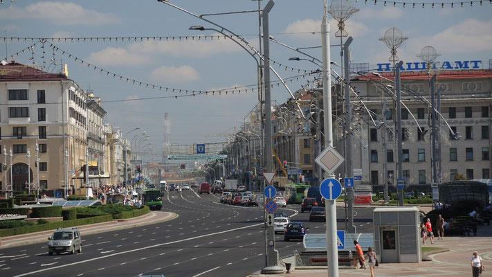 Praspekt Nezalezhnastsi - Minsk - Belarus