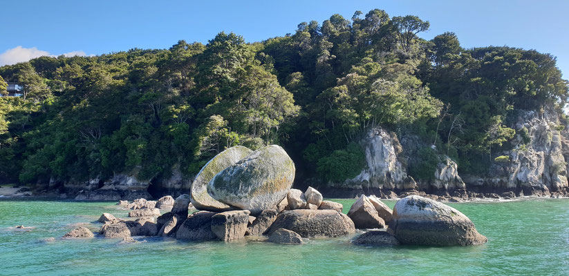 Split Apple Rock - Abel Tasman Nationalpark - South Island
