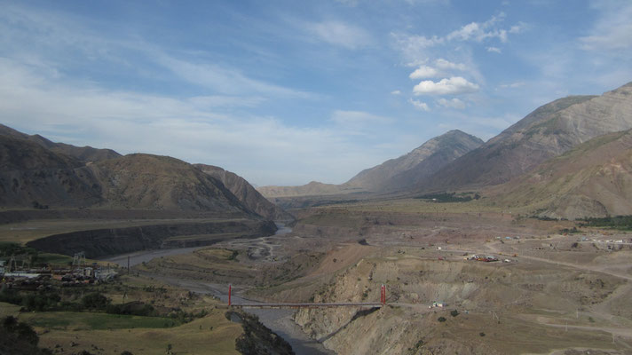 Vahs River - Pamir Highway - Tajikistan