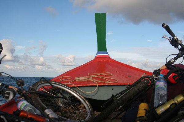 Boat ride to Ko Adang Island - Ko Tarutao National Park - Southwestern Thailand