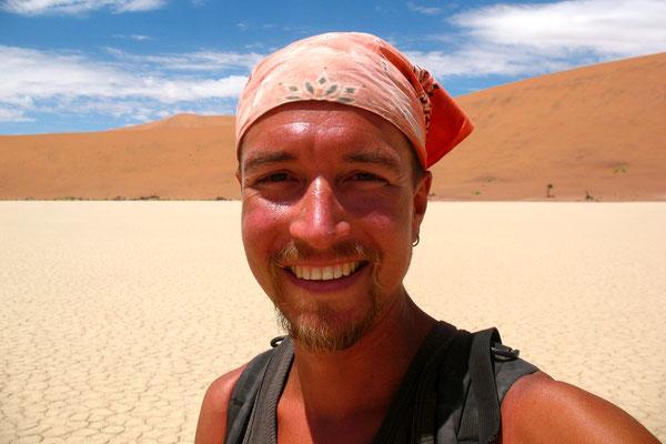 Me at Dead Vlei - Sossusvlei Reserve - Namib Desert
