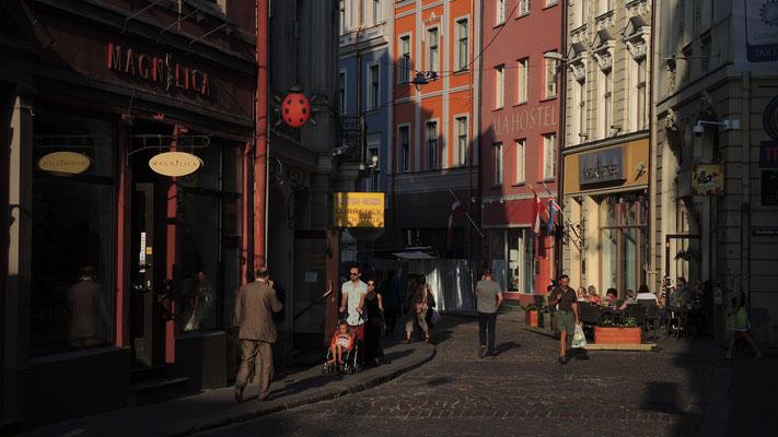 Audeju iela - Riga Old Town - Latvia