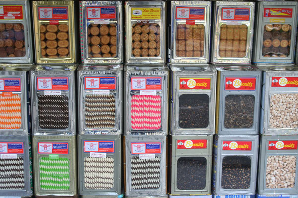 Sweets on offer - Chiang Mai
