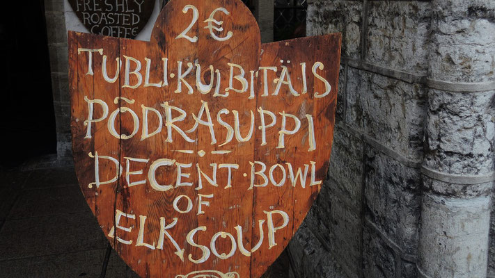 Elk Soup - Tallinn Old Town - Estonia