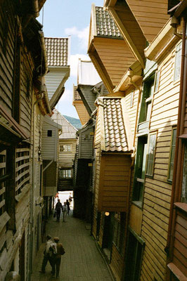 Bergen Old Town - Western Norway