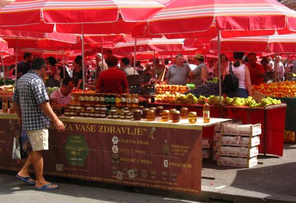 Dolac Market - Zagreb - Croatia