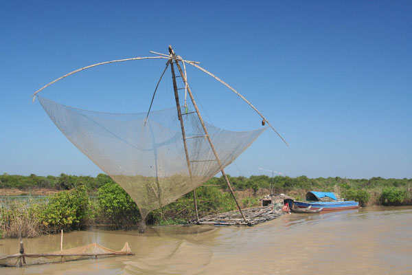 Fishing net - Sangkae River
