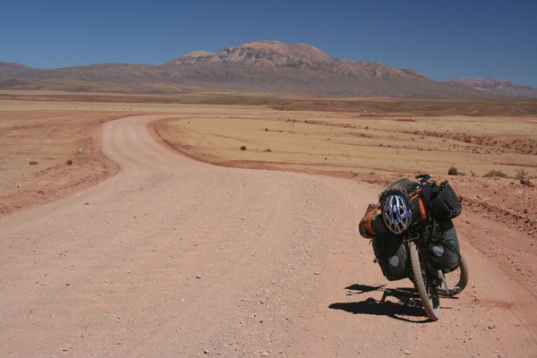 Cycling the Altiplano - Potosi Province
