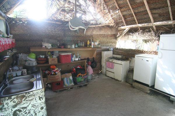 Polynesian kitchen - Bora Bora