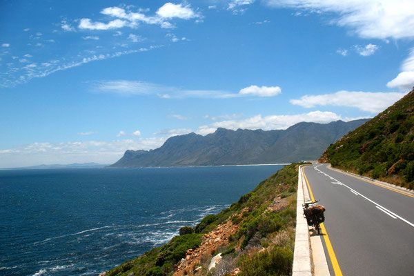 Cycling False Bay - South of Gordon´s Bay