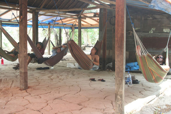 Camp at Beni River - Amazon Basin
