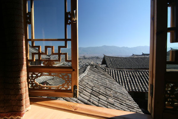 Window with a view - Lijiang Old Town