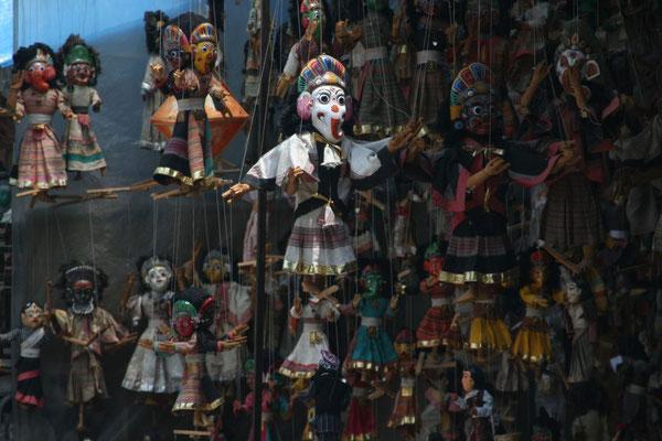 Nepali puppets on offer - Kathmandu