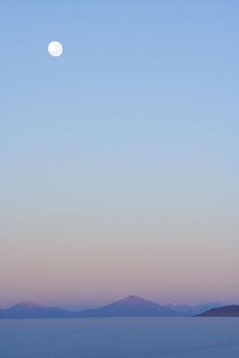 Dusk at Salar de Uyuni