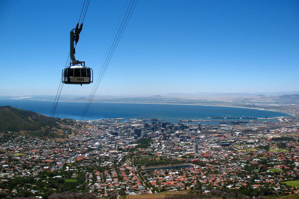 Table Mountain cable car - Cape Town