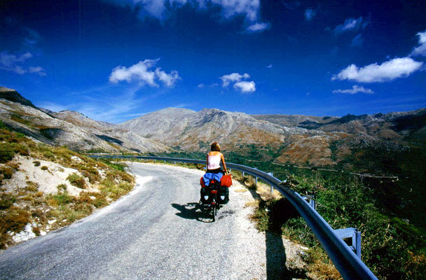 Cycling Col de Vaccia 1,199 m - Central Corsica