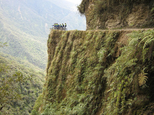 Cycling the world´s most dangerous road - The Yungas