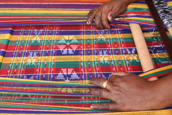 Traditional weaving - Eastern Flores