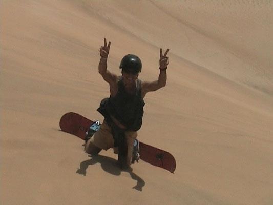 Sandboarding - Swakopmund
