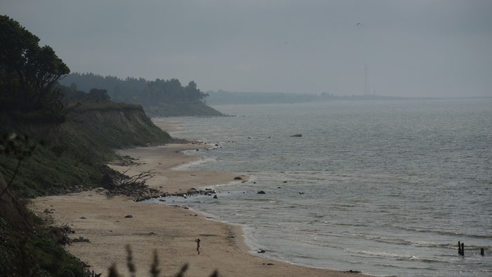 Baltic coast south of Ventspils - Latvia