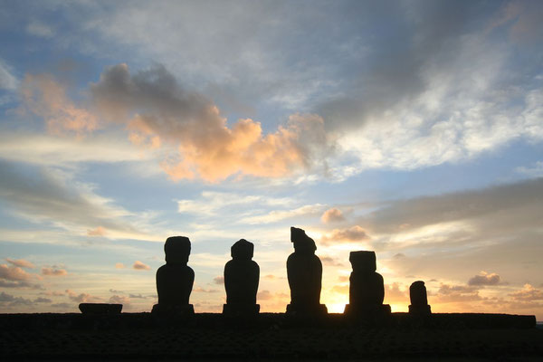 Ahu Tepeu - Easter Island West Coast