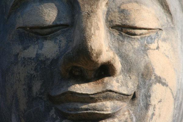 Buddha statue - Sukhothai - Northwestern Thailand