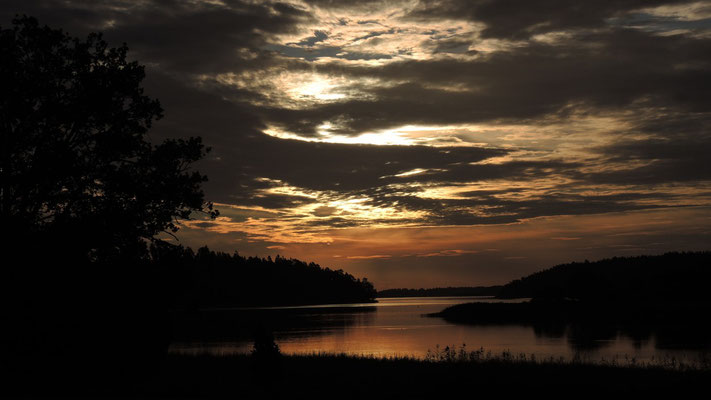 Sunrise at Tyresta National Park - Sweden