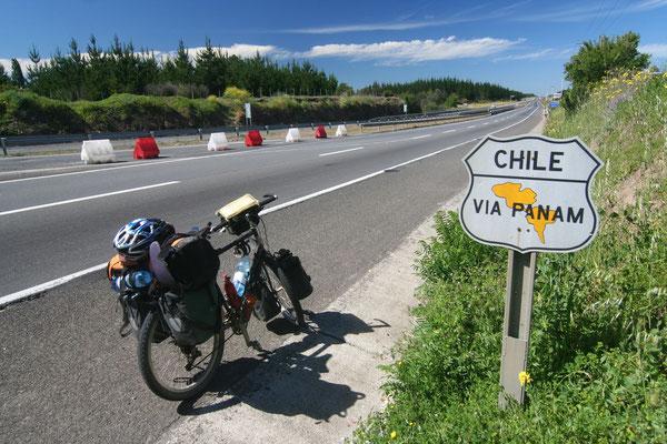 Panamericana - South of Santiago