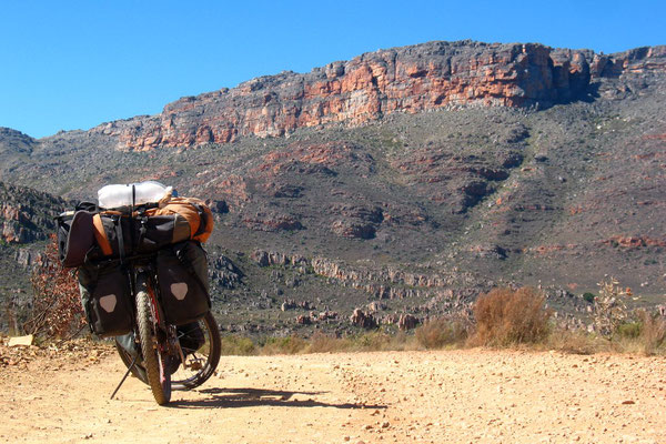 Approaching Sanddrif Camp Site - Cederberg Mountains
