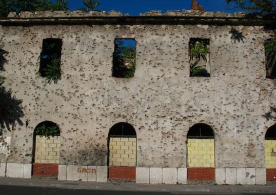 Former front line - Mostar - Bosnia and Hercegovina
