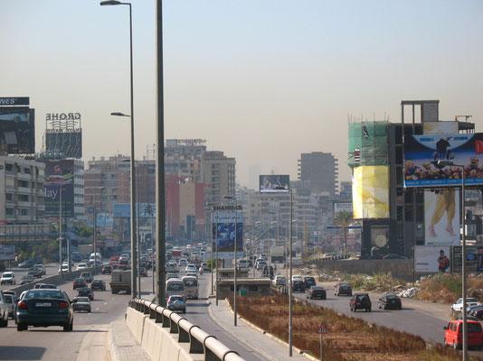 Approaching Beirut - Lebanon