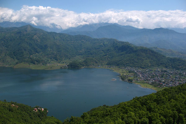 Phewa Tal Lake - Pokhara - South of Annapurna Range