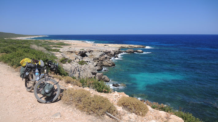 Easternmost tip of Cyprus - Karpas Peninsula